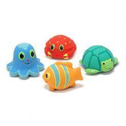 Zabawki do kąpieli – morskie stwory