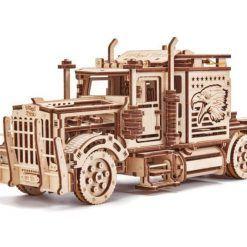 Laweta puzzle 3D – naczepa do Big Truck z Jeepem