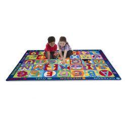 Mata podłogowa – dywan ABC