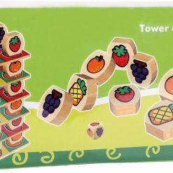 Owocowa wieża do układania