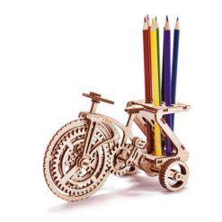 Puzzle mechaniczne 3D rower
