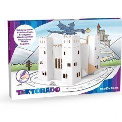 Zabawka kartonowa – baśniowy zamek
