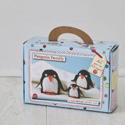 Zestaw kreatywny – Rodzina Pingwinów