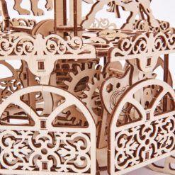 Piękna karuzela – puzzle do składania modeli