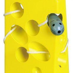 Przeplatanka labirynt – żółty ser dla myszki