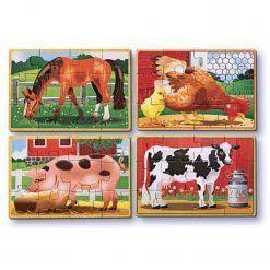 Puzzle Wiejskie zwierzęta