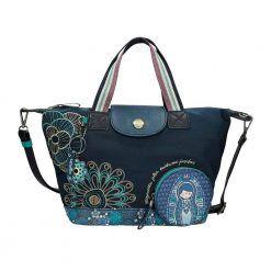 Torba shopper bag z klapką