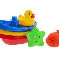 Łódeczki ze zwierzątkami do kąpieli
