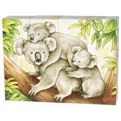 Puzzle kocki zwierzęta Australii