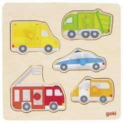 Układanka Pojazdy