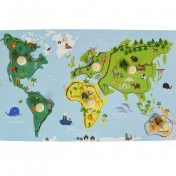 Układanka Mapa Świata