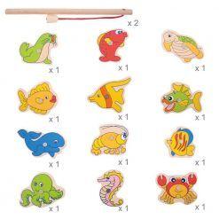Gra magnetyczna łowienie rybek