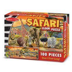 Puzzle podłogowe Safari 100 el.