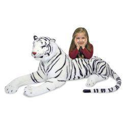 Tygrys biały – duża maskotka