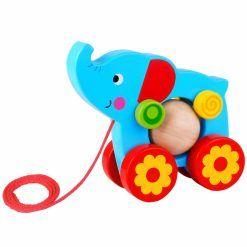 Słoń Do Ciągnięcia za Sznureczek