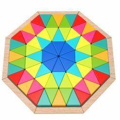 Puzzle Ośmiokątne Mozaika