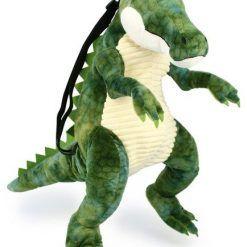 Plecak w kształcie krokodyla