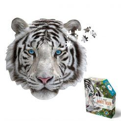 Puzzle konturowe I AM - Biały tygrys 300 el.