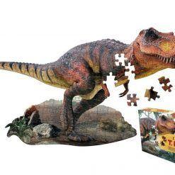 Puzzle konturowe I AM T-REX - 100 el.