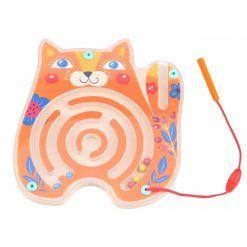 Tablica Zręcznościowa Labirynt Magnetyczny Kot