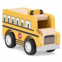 Drewniany Autobus Szkolny