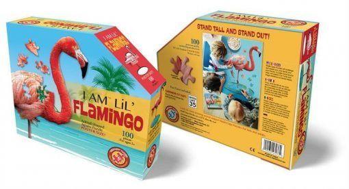 Puzzle konturowe I AM - Flaming 100 el.