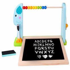 Edukacyjna Tablica Na Biurko + 18 magnetycznych elementów
