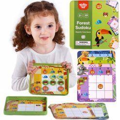 Gra Sudoku Dla Dzieci Wersja Las